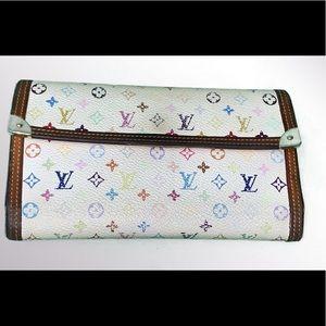 Louis Vuitton Murkami Multicolor Wallet